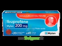 Ibuprofene Mylan 200 Mg, Comprimé Enrobé à CHASSE SUR RHONE