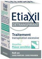 Etiaxil Aisselles Détranspirant Peau Sensibles Roll-on/15ml à CHASSE SUR RHONE