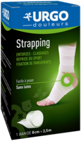 Urgo Strapping 8cm X 2,5m à CHASSE SUR RHONE