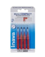 Inava Brossettes Mono-compact Rouge Iso 4 1,5mm à CHASSE SUR RHONE