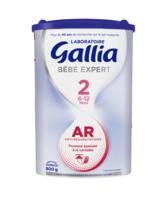 GALLIA BEBE EXPERT AR 2 Lait en poudre B/800g à CHASSE SUR RHONE