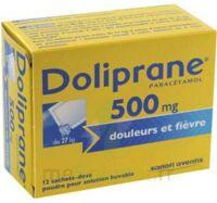 Doliprane 500 Mg Poudre Pour Solution Buvable En Sachet-dose B/12 à CHASSE SUR RHONE