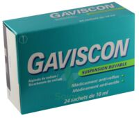 Gaviscon, Suspension Buvable En Sachet