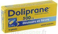 DOLIPRANE 500 mg Gélules B/16 à CHASSE SUR RHONE