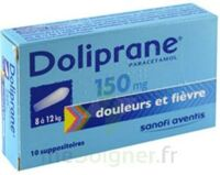 DOLIPRANE 150 mg Suppositoires 2Plq/5 (10) à CHASSE SUR RHONE