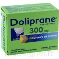 DOLIPRANE 300 mg Poudre pour solution buvable en sachet-dose B/12 à CHASSE SUR RHONE