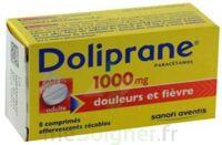DOLIPRANE 1000 mg Comprimés effervescents sécables T/8 à CHASSE SUR RHONE