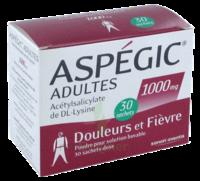 Aspegic Adultes 1000 Mg, Poudre Pour Solution Buvable En Sachet-dose 30 à CHASSE SUR RHONE