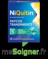 NIQUITIN 21 mg/24 heures, dispositif transdermique Sach/28 à CHASSE SUR RHONE