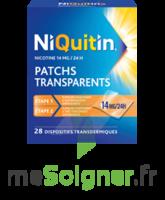 NIQUITIN 14 mg/24 heures, dispositif transdermique Sach/28 à CHASSE SUR RHONE