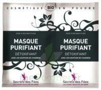 Secrets Des Fées Masque Purifiant Charbon 2sachets/6g à CHASSE SUR RHONE