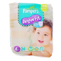 PAMPERS COUCHES ACTIVE FIT TAILLE 4 7-18 KG x 26 à CHASSE SUR RHONE