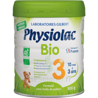 Physiolac Bio Lait 3éme Age 800g à CHASSE SUR RHONE