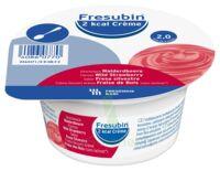 Fresubin 2kcal Crème sans lactose Nutriment fraise des bois 4 Pots/200g à CHASSE SUR RHONE