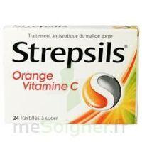 Strepsils Orange Vitamine C, Pastille à CHASSE SUR RHONE
