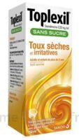 TOPLEXIL 0,33 mg/ml sans sucre solution buvable 150ml à CHASSE SUR RHONE