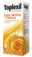 TOPLEXIL 0,33 mg/ml, sirop 150ml à CHASSE SUR RHONE