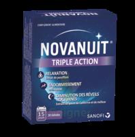 Novanuit Triple Action Gélules B/30 à CHASSE SUR RHONE