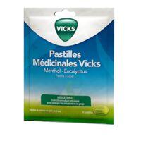 PASTILLES MEDICINALES VICKS Past à sucer menthol eucalyptus Sach/18 à CHASSE SUR RHONE