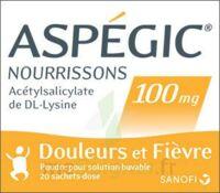 ASPEGIC NOURRISSONS 100 mg, poudre pour solution buvable en sachet-dose à CHASSE SUR RHONE