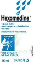 HEXOMEDINE 1 POUR MILLE, solution pour pulvérisation cutanée en flacon pressurisé à CHASSE SUR RHONE