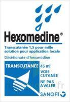 Hexomedine Transcutanee 1,5 Pour Mille, Solution Pour Application Locale à CHASSE SUR RHONE