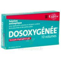 Dosoxygenee 10 Volumes, Solution Pour Application Cutanée En Récipient Unidose à CHASSE SUR RHONE