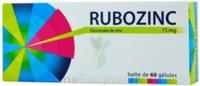 RUBOZINC 15 mg Gél 1Plq/60 à CHASSE SUR RHONE
