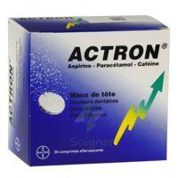 ACTRON, comprimé effervescent B/30 à CHASSE SUR RHONE