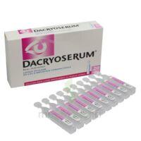 Dacryoserum Solution Pour Lavage Ophtalmique En Récipient Unidose 20unidoses/5ml à CHASSE SUR RHONE