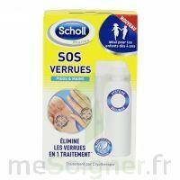 Scholl SOS Verrues traitement pieds et mains