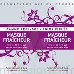 Secrets Des Fées Masque Fraicheur Coup D'eclat Peel-off à CHASSE SUR RHONE