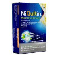 Niquitin 4 Mg Gom à Mâcher Médic Menthe Glaciale Sans Sucre Plq Pvc/pvdc/alu/30 à CHASSE SUR RHONE