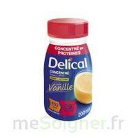 DELICAL BOISSON HP HC CONCENTREE Nutriment vanille 4Bouteilles/200ml à CHASSE SUR RHONE