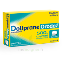 Dolipraneorodoz 500 Mg, Comprimé Orodispersible à CHASSE SUR RHONE