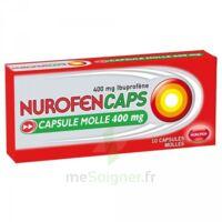 NUROFENCAPS 400 mg Caps molle Plq/10 à CHASSE SUR RHONE