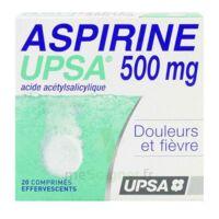ASPIRINE UPSA 500 mg, comprimé effervescent à CHASSE SUR RHONE