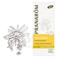 PRANAROM Huile végétale bio Macadamia 50ml à CHASSE SUR RHONE