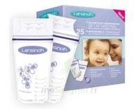 LANSINOH Sachets de Conservation pour Lait Maternel - 25 sachets à CHASSE SUR RHONE