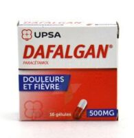 DAFALGAN 500 mg Gélules 2plq/8 (16) à CHASSE SUR RHONE