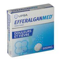 EFFERALGANMED 500 mg, comprimé effervescent sécable à CHASSE SUR RHONE