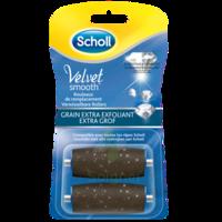 Scholl Velvet Smooth Rouleaux De Remplacement  Grain Extra Exfoliant