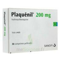 PLAQUENIL 200 mg, comprimé pelliculé à CHASSE SUR RHONE