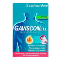 Gavisconell Suspension Buvable Sachet-dose Menthe Sans Sucre 12sach/10ml