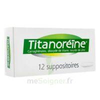 TITANOREINE Suppositoires B/12 à CHASSE SUR RHONE