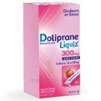 Dolipraneliquiz 300 mg Suspension buvable en sachet sans sucre édulcorée au maltitol liquide et au sorbitol B/12 à CHASSE SUR RHONE