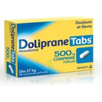 DOLIPRANETABS 500 mg Comprimés pelliculés Plq/16 à CHASSE SUR RHONE