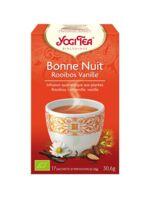 Yogi Tea Bonne Nuit Rooibos Vanille à CHASSE SUR RHONE