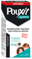 Pouxit Shampooing antipoux 200ml+peigne à CHASSE SUR RHONE