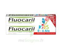 Fluocaril Kids Gel dentifrice Fraise 0/6ans 2*50ml à CHASSE SUR RHONE